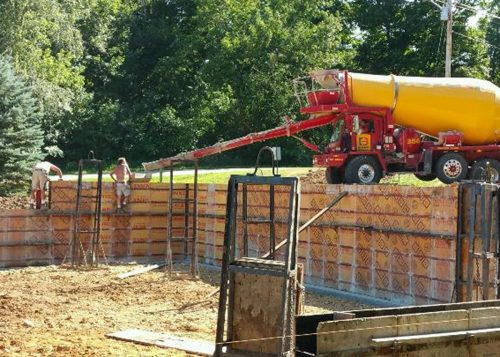 Rock Solid Concrete prepping for Hawks Mill Winery updates